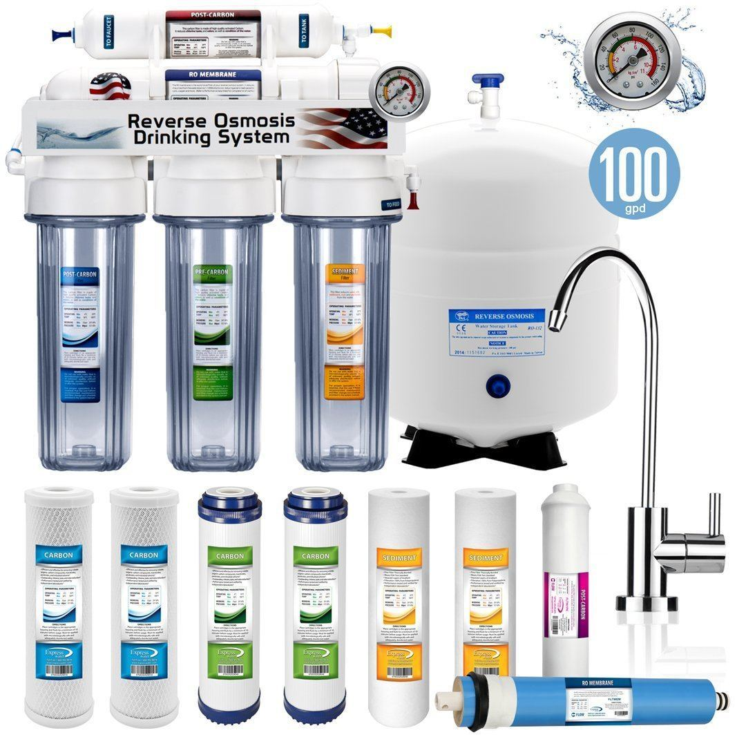 1.	5 Stage Home Drinking Reverse Osmosis System