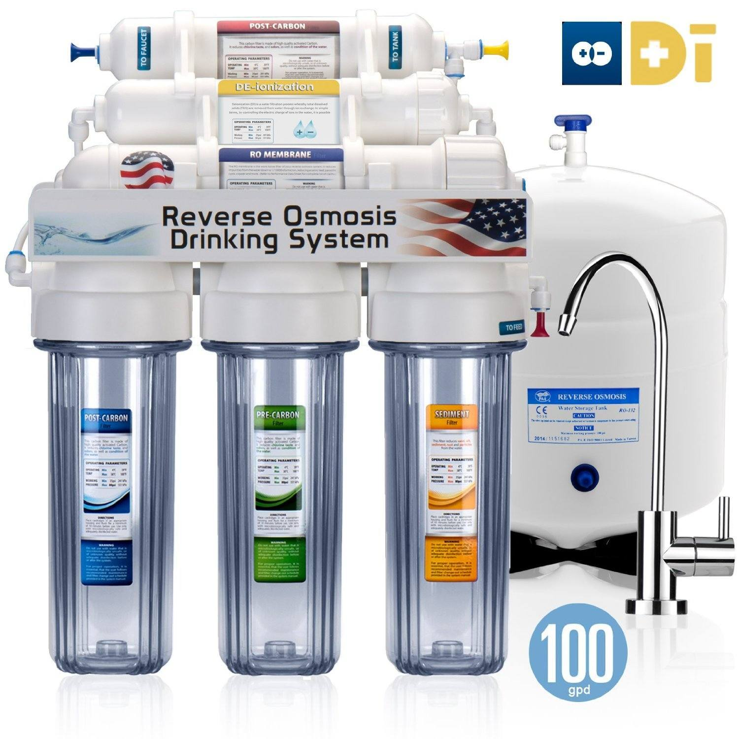4.	Express Water 6 Stage UV Ultra-Violet Sterilizer Reverse Osmosis