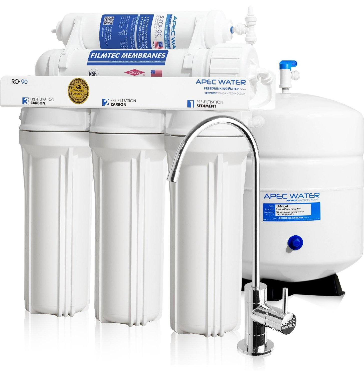 APEC Water High-Flow 90 GPD Reverse Osmosis